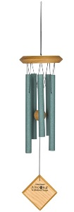 Woodstock Chimes | Encore Chimes of Mars | Verdigris (green)