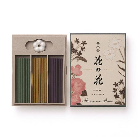 Japanese Incense | Hana no Hana 30 | 3 fragrances | 30 Sticks