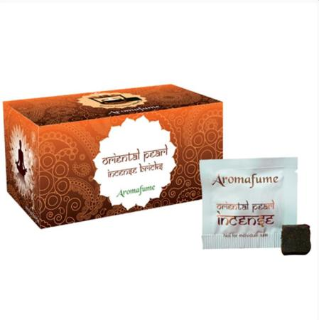 Aromafume Incense Bricks | Oriental Pearl fragrance | 20 brick pack