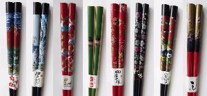 8 New Colourful Chopsticks now in stock