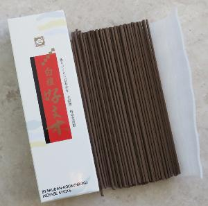 Japanese Incense Sticks | Baieido | Byakudan Kobunboku | 30g | 110 Stick box