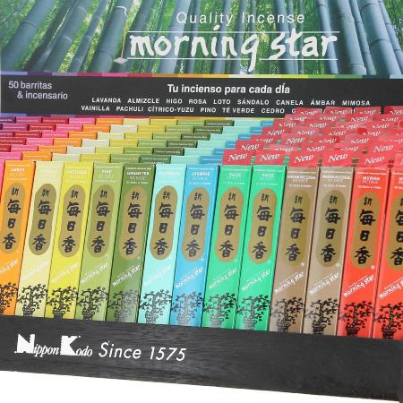 Morning Star Japanese Incense | 21 fragrances | available in boxes of 50 and 200