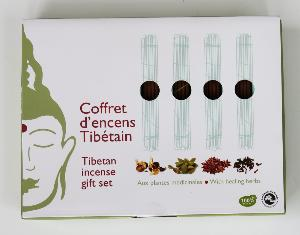 Tibetan Incense | Les Encens du Monde | Gift Set | 48 Sticks & Burner