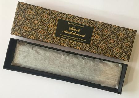 Black Sandalwood Indian Incense | Pure Incense Absolute | 50 gram Box