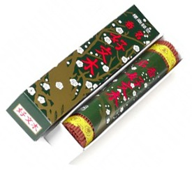 Japanese Incense Sticks | Baieido | Original Kobunboku | 100 sticks | Boxed