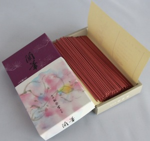 Orchid Ranka Japanese Incense | Box of 275 Sticks | Selects by Shoyeido