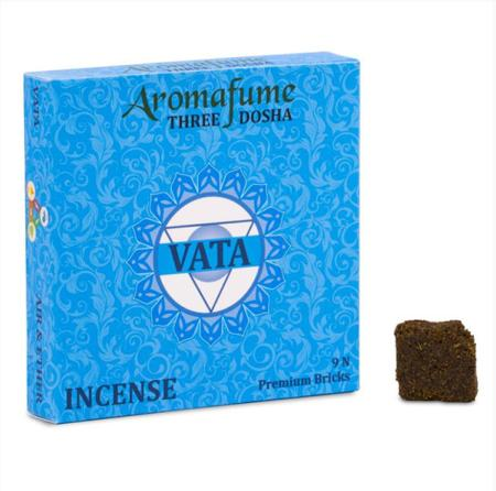 Aromafume Incense Bricks | Vata Dosha | 9 brick pack