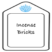 Incense Bricks are an Alternative to Incense Sticks and Cones - sold by Vectis Karma Online Incense Shop