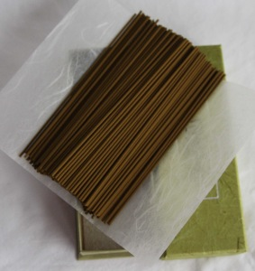 Japanese Incense Sticks | Nippon Kodo | Mainichikoh Byakudan | 150 Sticks boxed