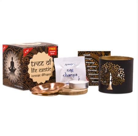 Aromafume Tree of Life Diffuser for Aromafume Incense Bricks