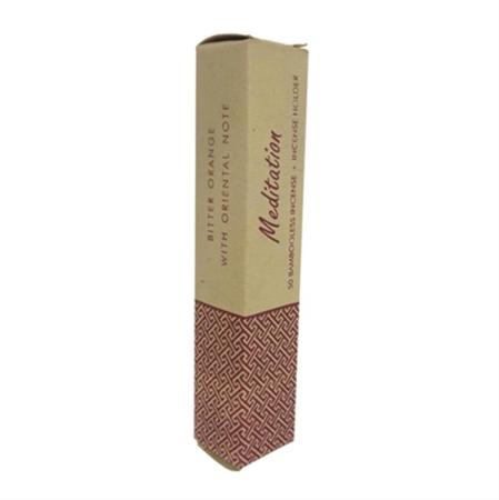 Meditation Herbal Incense Sticks by Song of India | Oriental Orange | 50 sticks