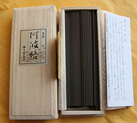 Prince of Awaji | Kyara Aloeswood | Finest Quality Japanese Incense Sticks | by Les Encens du Monde