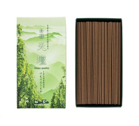 Japanese Incense | Byakudan Old temple Tendan Sandalwood | 330 Stick box