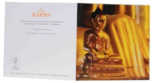 Greeting Card Bundle A | Buddhist Themed | 4 Square cards
