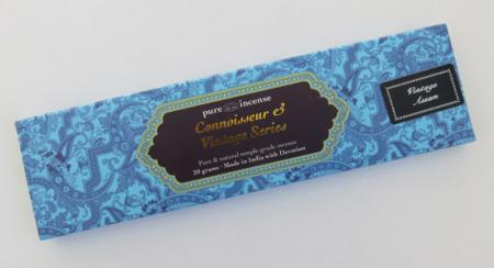 Vintage Assam Indian Incense | Pure Incense Connoisseur & Vintage | 20 gram pack