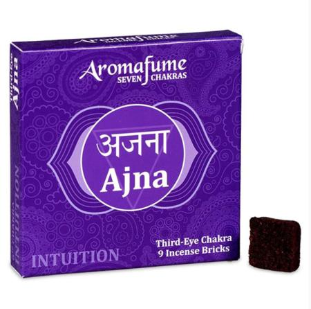 Aromafume Incense Bricks | 6th Chakra - Ajna (Third Eye Chakra) | 9 brick pack