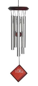 Woodstock Chimes | Encore Chimes of Mars | Silver