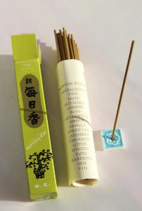 Morning Star Yuzu Incense | Box of 50 sticks & holder by Nippon Kodo
