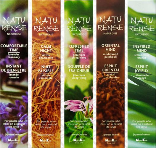 Naturense Japanese Incense by Nippon Kodo | 5 varieties | sold by Vectis Karma