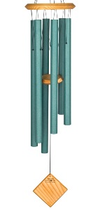 Woodstock Chimes | Encore Chimes of Earth | Verdigris (green)