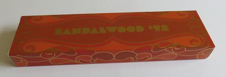 Sandalwood/Super Chandan Indian Incense | Pure Incense Absolute | 50 gram 1970's Box