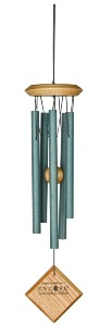 Woodstock Chimes | Encore Chimes of Mercury | Verdigris (green)