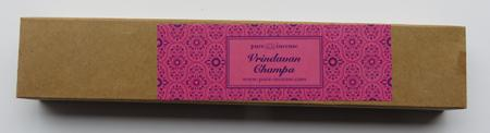 Vrindavan Champa Indian Incense | Pure Incense Absolute | 50 gram Box
