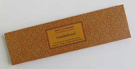 Pure Incense Sandalwood Absolute range