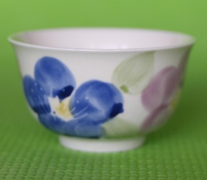 Japanese Asagao Teacup Incense Holder