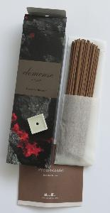 Japanese Incense | Elemense | Fire | 40 Sticks & holder | by Nippon Kodo