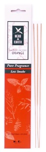 Bamboo Incense Sticks | Herb & Earth | Orange | by Nippon Kodo