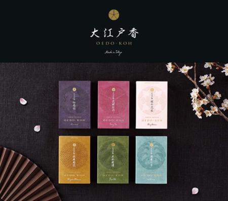 Oedo-Koh - new fine Japanese Incense range from Nippon Kodo