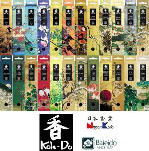 Full Koh-Do range of affordable Japanese Incense Sticks in stock now