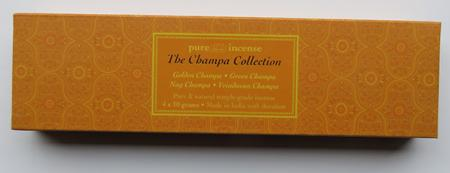 Champa Collection Indian Incense | Pure Incense Absolute | 40 gram Box