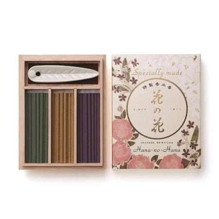 Japanese Incense | Excellent Hana no Hana 30 | 3 fragrances | 30 Sticks