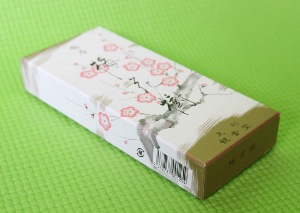 Baika-ju (Plum Blossom) Japanese Incense | Box of 150 Sticks | Selects by Shoyeido